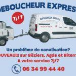 Débouchage canalisation Béziers à Agde