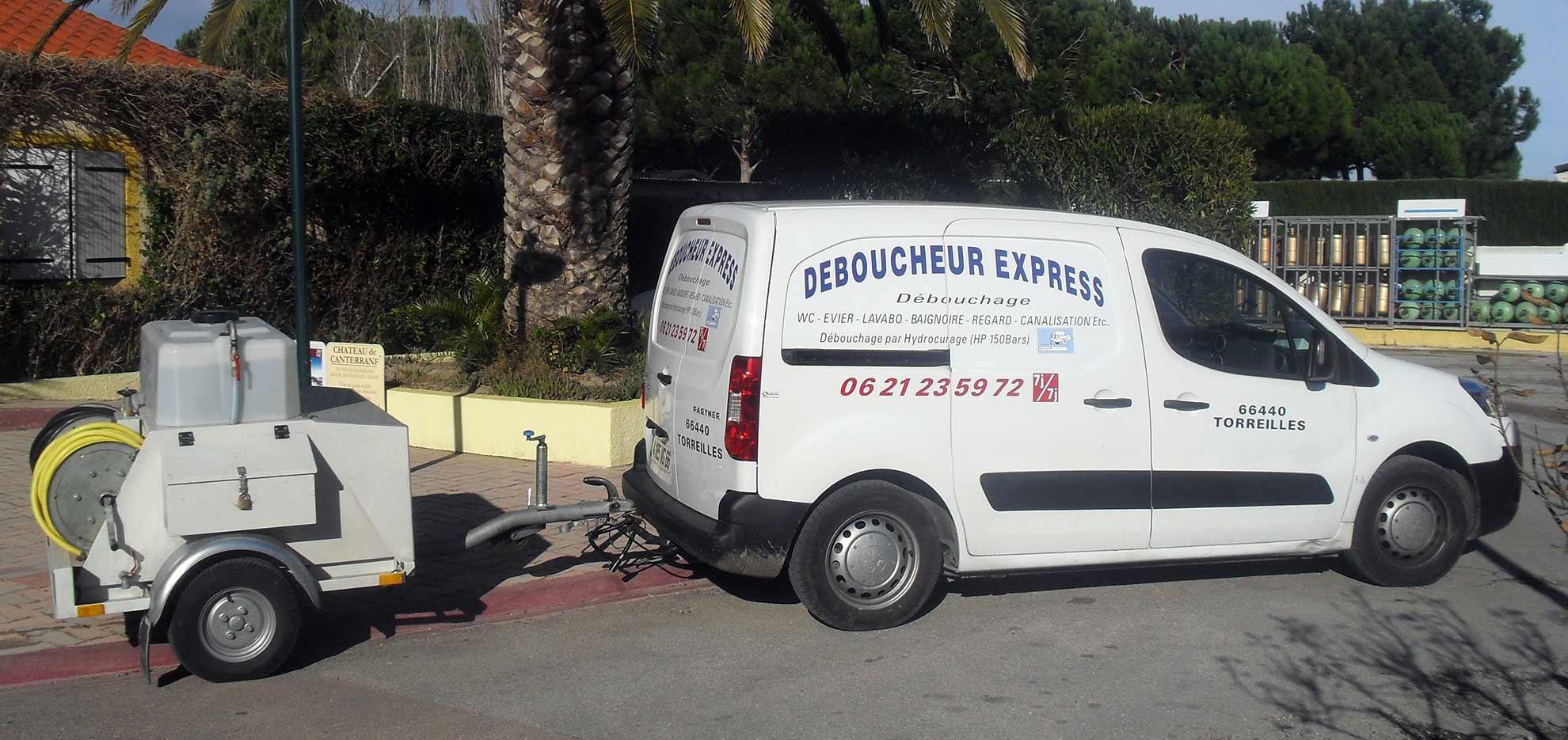 Déboucheur Express débouchage canalisation services d'assainissement Perpignan